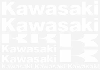 Tarrasarja, 25x35cm, Kawasaki valkoinen