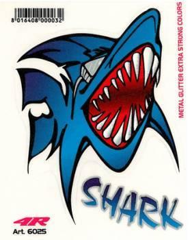 Tarra, pieni, 10x12cm, Shark