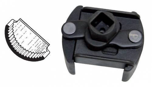 Buzzetti -öljynsuodatinavain, hammastettu