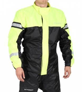 Sweep Monsoon 3 -sadetakki, musta/keltainen