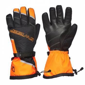 Sweep Blower -ajohanskat, musta/oranssi