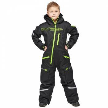 Sweep Snowcore Evo 2.0 Junior -kelkkahaalarit, musta