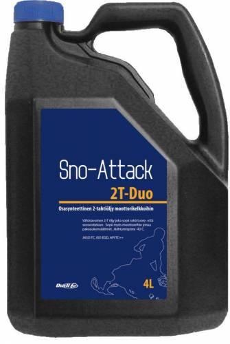 Sno-Attack, 2T-öljy, 4L