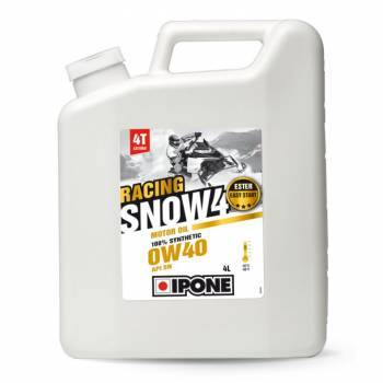 Ipone Snow Racing, 4T-öljy 0W-40, 4L