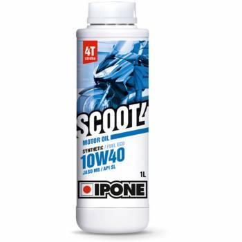 Ipone Scoot 4, 4T-öljy 10W-40, 1L