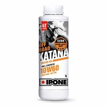 Ipone Off-Road Katana, 4T-öljy 10W-60, 1L