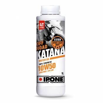 Ipone Off-Road Katana, 4T-öljy 10W-50, 1L