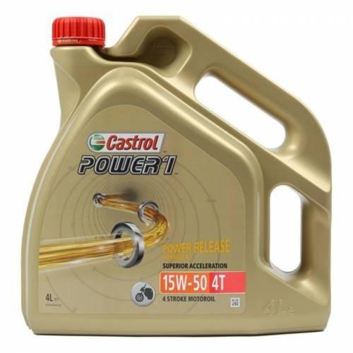 Castrol Power1 (GPS), 4T-öljy 15W-50, 4L