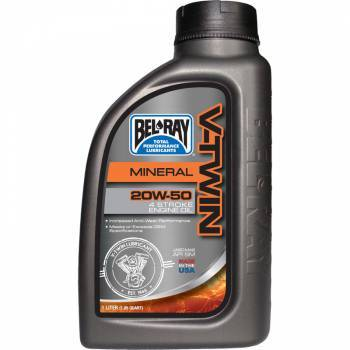 Bel-Ray V-Twin Motor Oil, 4T-öljy 20W-50, 1L