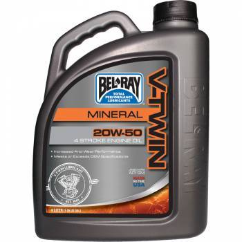 Bel-Ray V-Twin Motor Oil, 4T-öljy 20W-50, 4L
