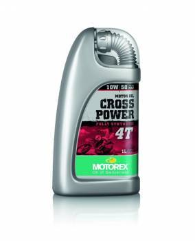 Motorex Cross Power, 4T-öljy 10W-50, 1L