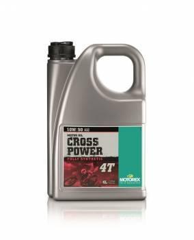 Motorex Cross Power, 4T-öljy 10W-50, 4L