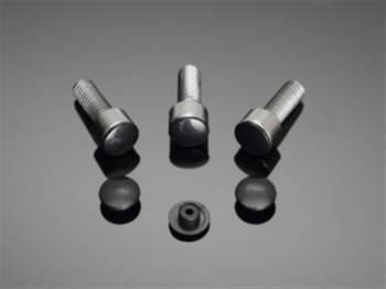 Kuusiokolopultin peitelevysarja, musta 10mm