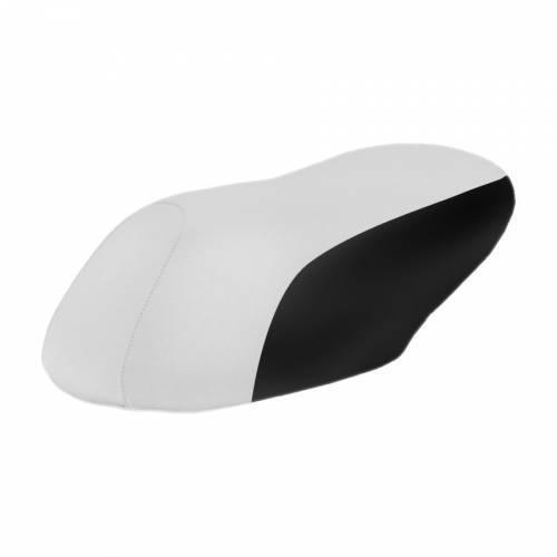 TNT Tuning -satulanpäällinen, Nitro/Aerox, valkoinen/musta