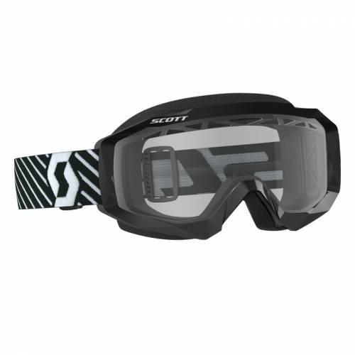 Scott Hustle MX Enduro -ajolasit, musta (clear)