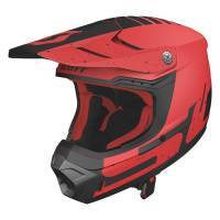 Scott 350 Evo Plus -kypärä, Team punainen/musta