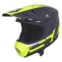 Scott 350 Evo Plus -kypärä, Team sininen/keltainen