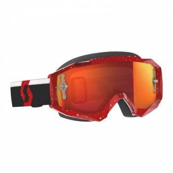 Scott Hustle MX -ajolasit, punainen (orange chrome)