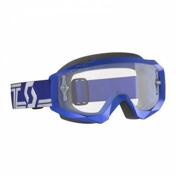 Scott Hustle X MX -ajolasit, sininen (clear)