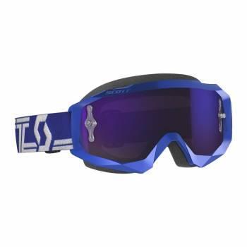Scott Hustle X MX -ajolasit, sininen (purple chrome)