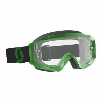 Scott Hustle X MX -ajolasit, vihreä (clear)