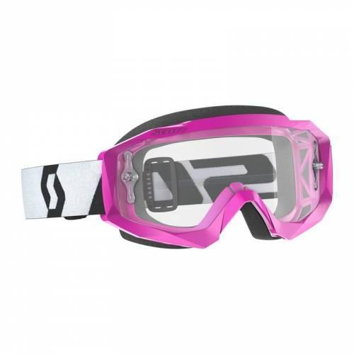 Scott Hustle X MX -ajolasit, pinkki (clear)