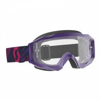 Scott Hustle X MX -ajolasit, violetti (clear)