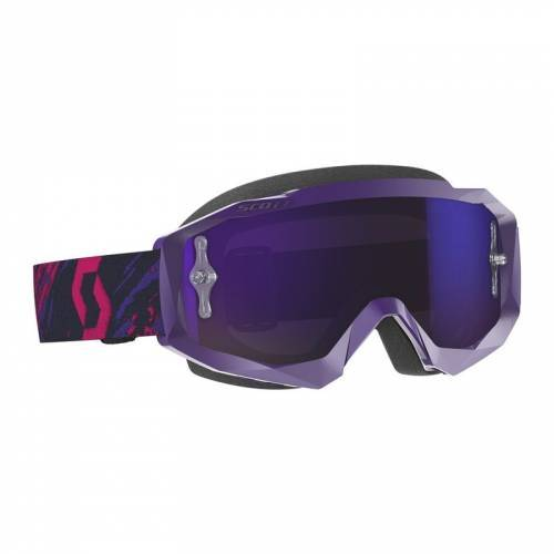 Scott Hustle X MX -ajolasit, violetti (purple chrome)