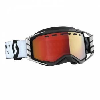 Scott Prospect SX -ajolasit, musta/valkoinen (red chrome)