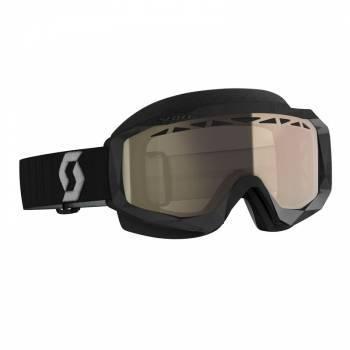 Scott Hustle SX -ajolasit, musta (bronze chrome LS)