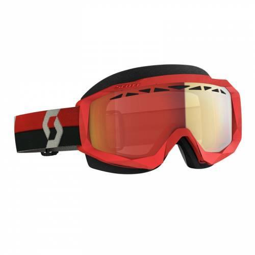 Scott Hustle SX -ajolasit, punainen (red chrome)