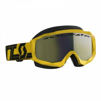 Scott Hustle SX -ajolasit, keltainen (yellow chrome)