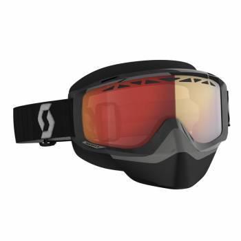 Scott Split OTG SX -ajolasit, musta (red chrome)