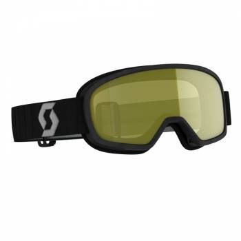 Scott Buzz Pro SX Junior -ajolasit, musta (keltainen)