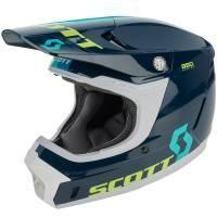 Scott 350 Evo Plus -kypärä, Track sininen
