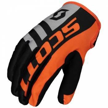 Scott 350 -ajohanskat, Dirt musta/oranssi