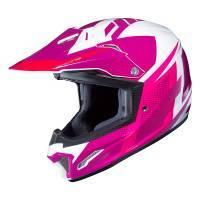 HJC CL-XY 2 Junior -kypärä, Argos valkoinen/pinkki