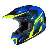 HJC CL-XY 2 Junior -kypärä, Argos sininen/keltainen