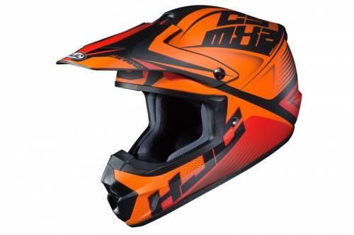 HJC CS-MX 2 -kypärä, Ellusion oranssi/musta