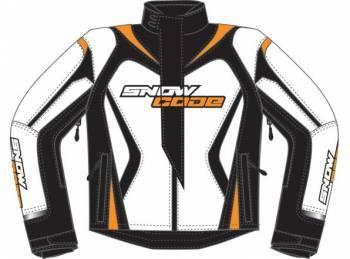 Snow Code Sport -ajotakki, valko/oranssi