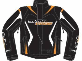 Snow Code Sport -ajotakki, musta/oranssi