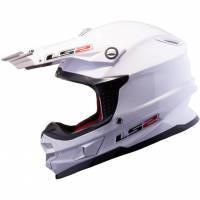 LS2 MX456 -kypärä, valkoinen