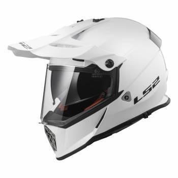 LS2 MX436 Pioneer -kypärä, valkoinen