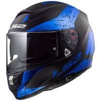 LS2 FF397 Vector -kypärä, Sign sininen