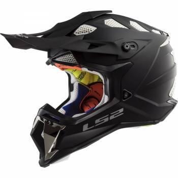 LS2 MX470 -kypärä, musta