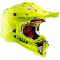 LS2 MX470 -kypärä, keltainen