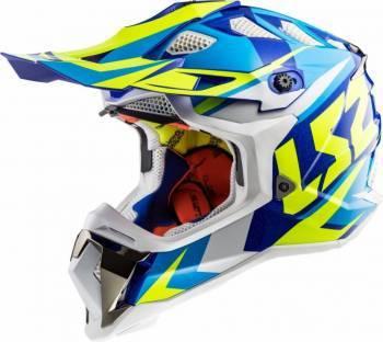 LS2 MX470 -kypärä, Nimble sininen