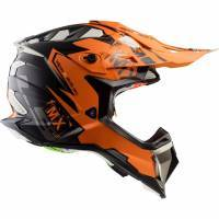 LS2 MX470 -kypärä, Emperor oranssi