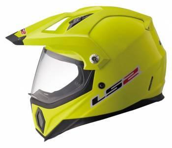 LS2 MX436 Pioneer -kypärä, keltainen