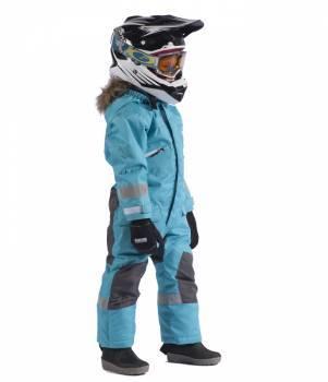 SnowPeople Kodiak Junior -kelkkahaalarit, turkoosi